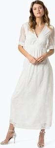 Sukienka Vila z dekoltem w kształcie litery v maxi