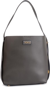 Czarna torebka NOBO matowa duża na ramię