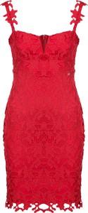 Czerwona sukienka Guess Jeans