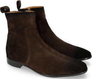 Brązowe buty zimowe Melvin & Hamilton
