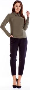 Bluzka Ptakmoda.com z długim rękawem z tkaniny