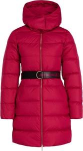 Różowy płaszcz Armani Jeans