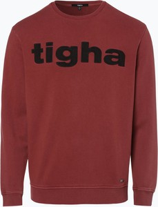 Bordowa bluza Tigha
