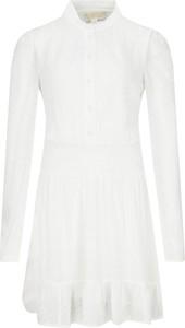 Sukienka Michael Kors z długim rękawem mini w stylu casual