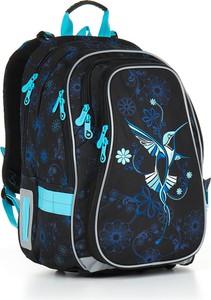 b093b76cfd35e Plecak damski szkolny duży pojemny a4 różowy szary. Czarny plecak TOPGAL