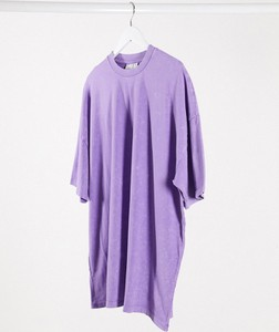 Fioletowa sukienka Asos mini