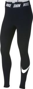 Legginsy Nike w sportowym stylu z bawełny