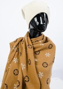 Brązowy szalik Olika