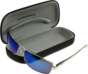 JK Collection Okulary polaryzacyjne MĘSKIE pilotki