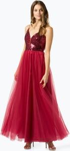 Sukienka VM z dekoltem w kształcie litery v rozkloszowana
