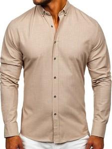 Koszula Denley z bawełny w stylu casual z długim rękawem