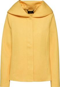 Żółta kurtka Only krótka w stylu casual