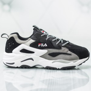 Buty sportowe Fila sznurowane w sportowym stylu