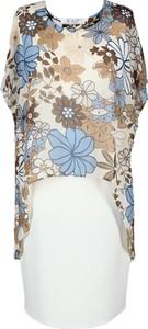 Sukienka Fokus z tkaniny w stylu boho asymetryczna