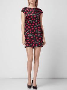 Sukienka Love Moschino bez rękawów z okrągłym dekoltem mini