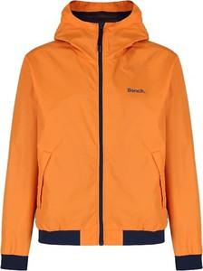 Pomarańczowa kurtka Bench w stylu casual