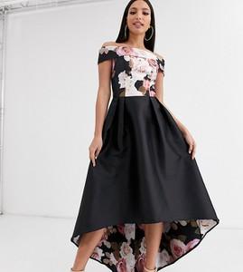 Czarna sukienka Chi Chi London Tall