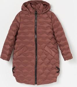 Czerwony płaszcz dziecięcy Reserved