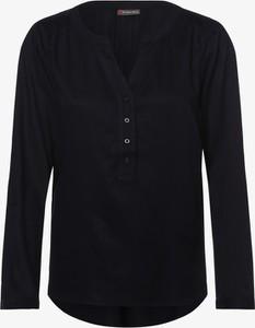 Granatowa bluzka STREET ONE w stylu casual