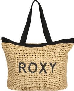 Żółta torebka Roxy w wakacyjnym stylu duża na ramię