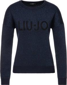 Granatowy sweter Liu Jo Sport