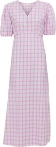 Różowa sukienka bonprix midi