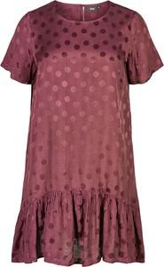 Sukienka Zizzi w stylu casual z krótkim rękawem