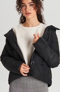 Czarna kurtka Cropp w stylu casual krótka