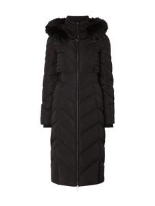 Czarny płaszcz Guess