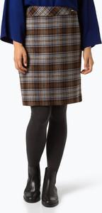 Brązowa spódnica Apriori z wełny