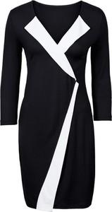 Sukienka bonprix BODYFLIRT midi z dżerseju w stylu klasycznym