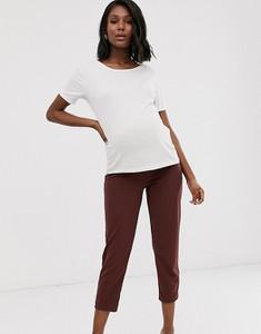 Brązowe spodnie Asos