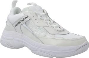 Calvin Klein Jeans Sneakersy MARVIN | z dodatkiem skóry