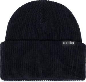 Czarna czapka ETNIES