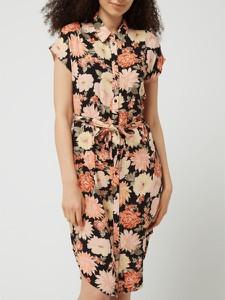 Sukienka Pieces z krótkim rękawem koszulowa