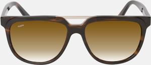 Brązowe okulary damskie Kazar