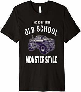 Koszulka dziecięca Epic Monster Truck Gift Co. z krótkim rękawem