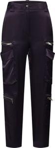 Spodnie The Kooples w militarnym stylu z satyny