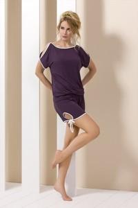 Fioletowa piżama Piżama