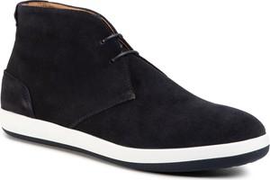Granatowe buty zimowe Emporio Armani