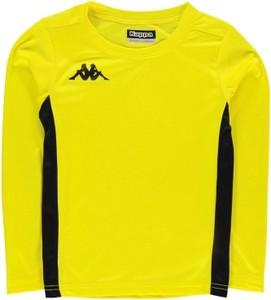 Żółta koszulka dziecięca Kappa