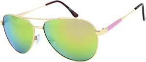 Zielone okulary damskie Joker