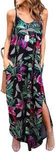 Sukienka Cikelly z dekoltem w kształcie litery v na ramiączkach