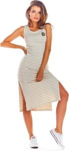 Sukienka Infinite You na ramiączkach dopasowana
