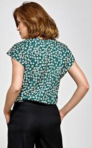Bluzka Colett z krótkim rękawem z okrągłym dekoltem