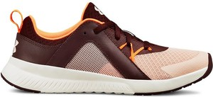 Brązowe buty sportowe Under Armour sznurowane w sportowym stylu