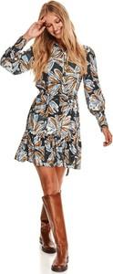Sukienka Top Secret mini z długim rękawem