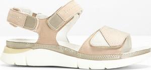 Sandały bonprix bpc selection ze skóry w stylu casual