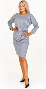 Sukienka Fokus w stylu casual z okrągłym dekoltem mini