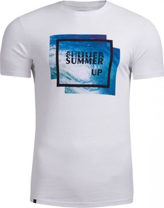 T-shirt Outhorn z bawełny